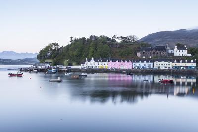 Portree Harbour on the Isle of Skye, Inner Hebrides, Scotland, United Kingdom, Europe-Julian Elliott-Photographic Print