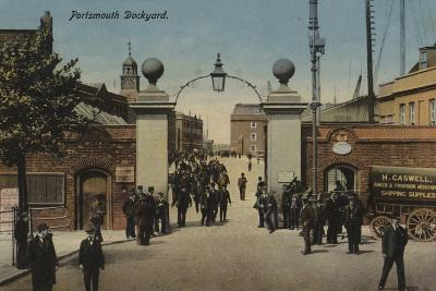 Portsmouth Dockyard--Photographic Print