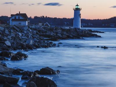 Portsmouth Harbor Lighthouse in New Castle, New Hampshire. Dawn-Jerry & Marcy Monkman-Photographic Print