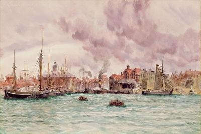 Portsmouth Harbour, 1884-John Brett-Giclee Print