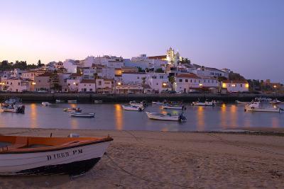 Portugal, Algarve, Portimao, Ferragudo, Townscape, Morning Mood-Chris Seba-Photographic Print