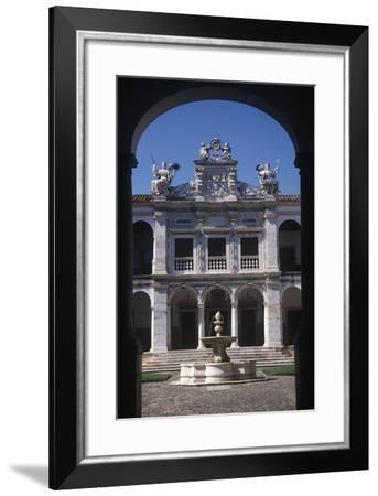 Portugal, Alto Alentejo, Evora, Historic Centre, Jesuit University--Framed Giclee Print