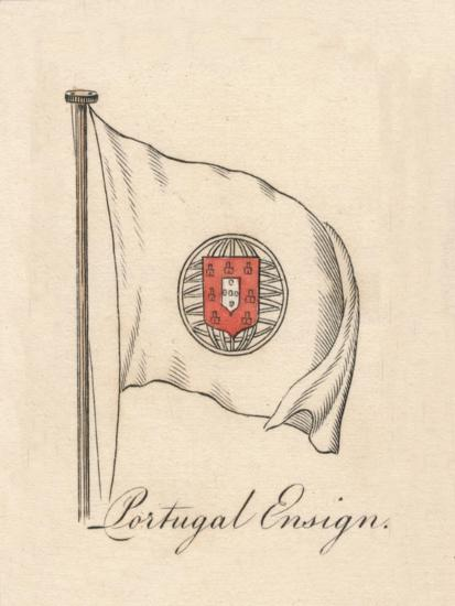 'Portugal Ensign', 1838-Unknown-Giclee Print
