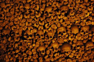 Portugal. Evora. Chapel of Bones. Church of St. Francis. Walls are Covered with Human Skulls and Bo--Photographic Print