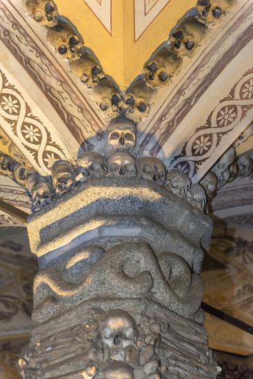 Portugal, Evora, St. Francis Church, Bone Chapel-Jim Engelbrecht-Photographic Print