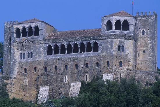 Portugal, Leiria, Leiria Castle--Giclee Print