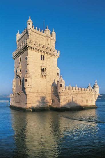 Portugal, Lisbon, Belem Tower--Giclee Print