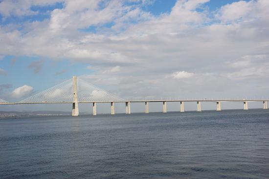 Portugal, Lisbon, the Vasco Da Gama Bridge, Built in 1995--Photographic Print