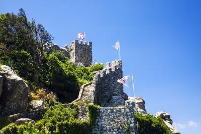 Portugal, Sintra, Castelo Dos Mouros and Quinta Da Regaleira-Terry Eggers-Photographic Print