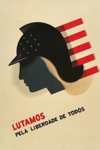 Portuguese Language Propaganda Poster
