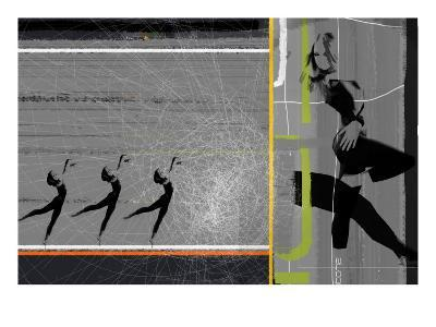 Pose and Jump-NaxArt-Art Print