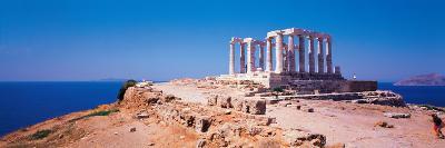Poseidon Cape Sounion Greece--Photographic Print