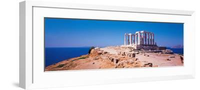 Poseidon Cape Sounion Greece--Framed Photographic Print