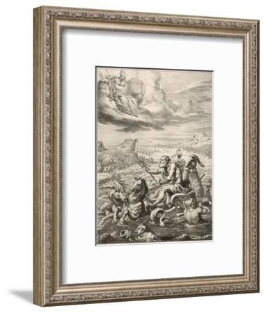 Poseidon / Neptune--Framed Giclee Print