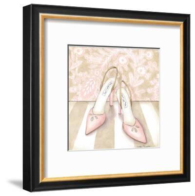 Posh Powder Room I-Megan Meagher-Framed Art Print