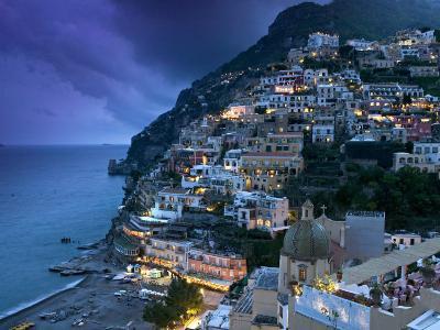 Positano, Amalfi Coast, Italy-Walter Bibikow-Photographic Print