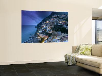 Positano, Amalfi Coast, Italy-Walter Bibikow-Wall Mural