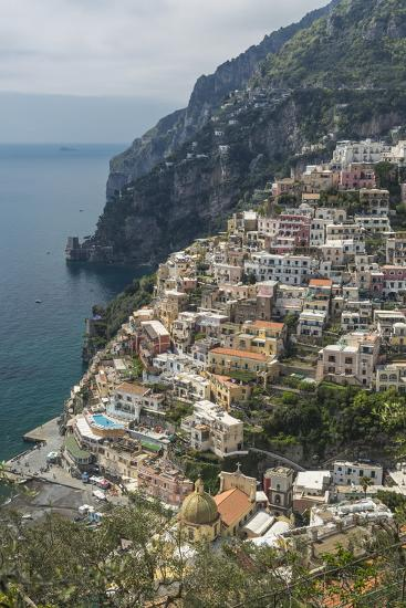 Positano, Amalfi Peninsula, UNESCO World Heritage Site, Campania, Italy, Mediterranean, Europe-Angelo Cavalli-Photographic Print