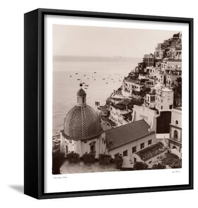 Positano Vista-Alan Blaustein-Framed Canvas Print