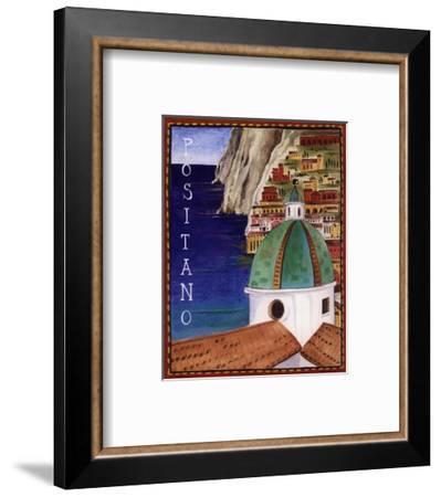 Positano-Katharine Gracey-Framed Art Print