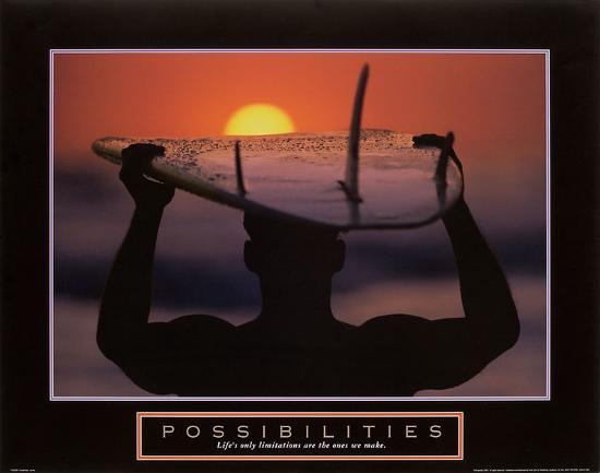Possibilities – Surfer-Unknown-Art Print