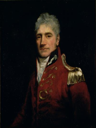 Possibly a Portrait of Major General Lachlan Macquarie (1761-1824), Governor of New South Wales…-John Opie-Giclee Print