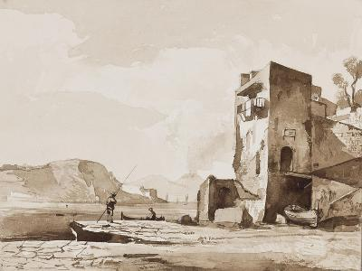 Possibly a View from Posillipo-Achille Vianelli-Giclee Print