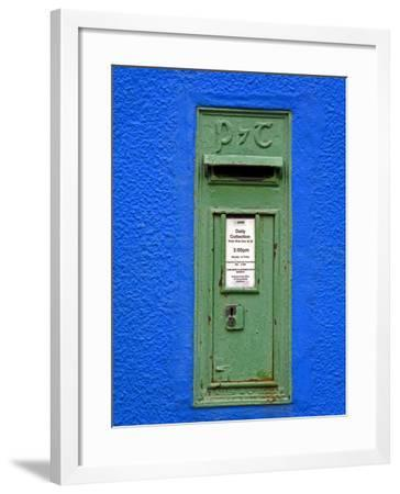 Post Box in Kenmare Town, County Kerry, Munster, Republic of Ireland, Europe-Richard Cummins-Framed Photographic Print