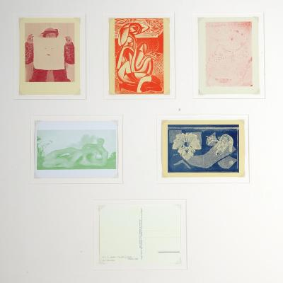 Post Cards Published by the English Surrealist Group--Giclee Print