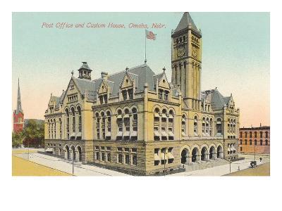Post Office and Custom House, Omaha, Nebraska--Art Print