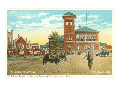 Post Office and Federal Building, Texarkana, Texas--Art Print