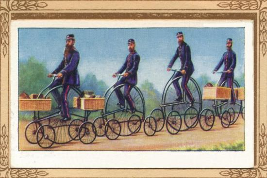 'Post Office Centre-Cycles', 1939-Unknown-Giclee Print