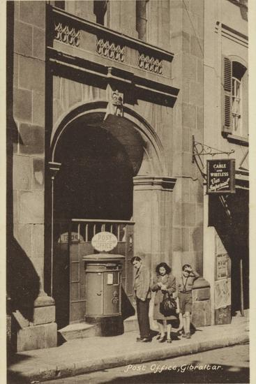 Post Office, Gibraltar--Photographic Print