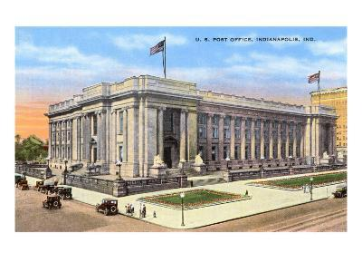 Post Office, Indianapolis, Indiana--Art Print