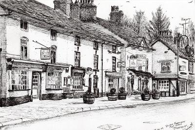 Post Office, Prestbury, 2009-Vincent Alexander Booth-Giclee Print