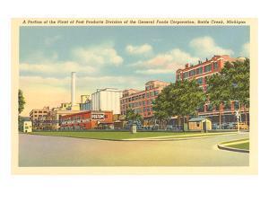 Post Products Plant, Battle Creek, Michigan