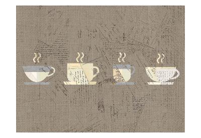 Postcard Coffee 2-Kimberly Allen-Art Print