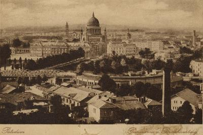 Postcard Depicting a General View of the City of Potsdam--Photographic Print