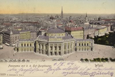 Postcard Depicting a General View of the City of Vienna--Photographic Print