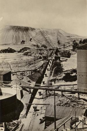 Postcard Depicting a Mine Dump at the Robinson Deep Gold Mine--Photographic Print
