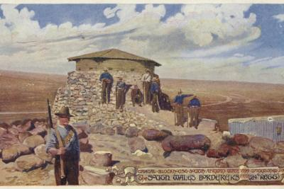 Postcard Depicting a Typical Blockhouse--Photographic Print