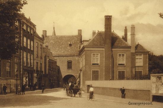 Postcard Depicting Gevangenpoort--Photographic Print
