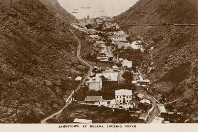Postcard Depicting Jamestown--Photographic Print