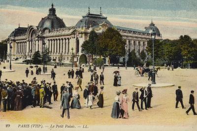 Postcard Depicting Le Petit Palais--Photographic Print