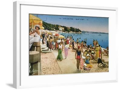 6 Juan Les Pins Postcard set 10x15cm watercolor prints