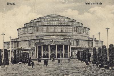Postcard Depicting the Centennial Hall--Photographic Print