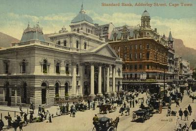 Postcard Depicting the Standard Bank on Adderley Street--Photographic Print