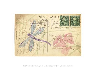 Postcard Dragonfly I-Nancy Shumaker Pallan-Art Print