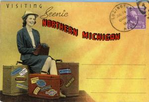 Postcard Folder, Northern Michigan
