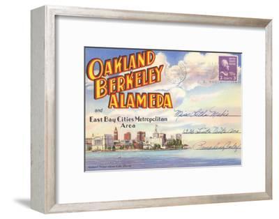 Postcard Folder, Oakland, Berkeley, Alameda, California